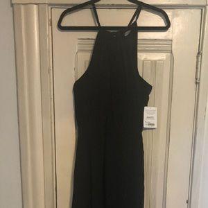 Athleta black maxi dress.